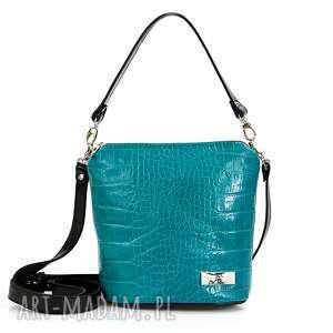 handmade na ramię skórzana torebka taszka touch 041