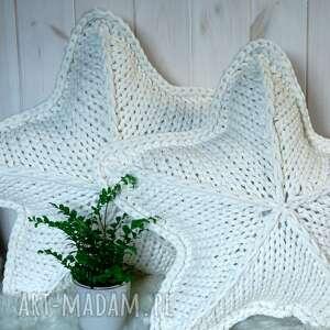 woolbyme poduszka gwiazda white star, gwiazda, ozdoba świąteczna, prezent