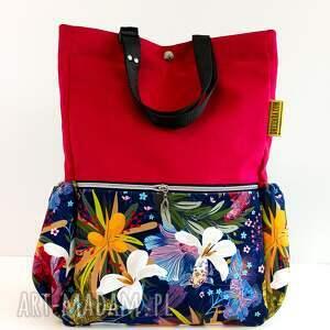 torebki torba plecak, kwiaty, plecak, prezent, pojemna torba, na ramię