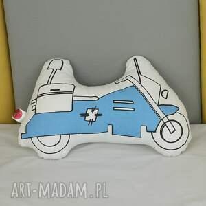 poduszka motor policyjny, poduszka, motor, pokoj dziecka