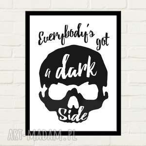 plakaty dark side plakat 30x40, dom