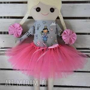 hand made lalki szmacianka z personalizacją, szmaciana lalka w tutu