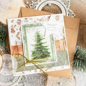hand-made pomysł na prezent święta piękna kartka bożego narodzenia