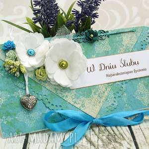 kartka kopertówka- marokańskie lato - ślub, kartka, kopertówka, maroko