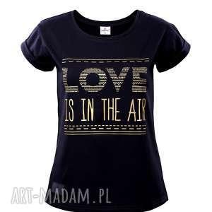 T-SHIRT LOVE R. S , t-shirt, love, czarna