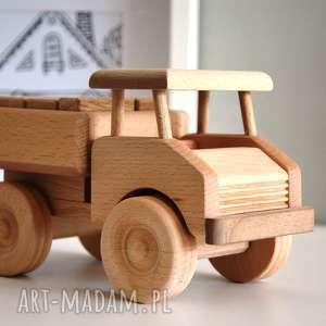 unikalny, samochód drewniany, samochód, samochodzik, klocki