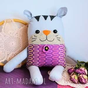 ręczne wykonanie maskotki kotek tulikotek - jola 40