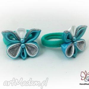 gumka dla dziewczynki do włosów bukiet pasji - prezent