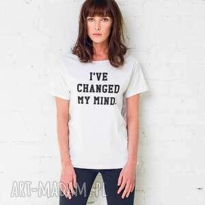changed mind oversize t-shirt, koszulki