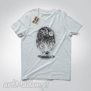 sowa pójdźka koszulka męska, tshirt, sowa, nadruk