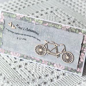 silverbird gallery tandem - kartka ślubna z personalizacją, tandem