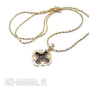 prezent na święta, jerusalem - naszyjnik, metal, miedź, krzyż, sakralna, ki ka
