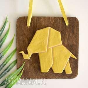 dekoracje słoń ceramiczny, słoń, zwierzęta, afryka, żyrafa