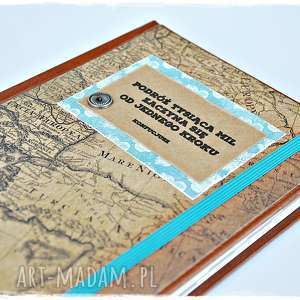 kalendarz podróżnika 2019, kalendarz, motywujący, vintage, mapa, podróż
