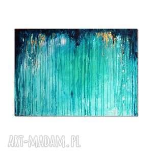 Głębia 20, abstrakcja, nowoczesny obraz ręcznie malowany, obraz, abstrakcja