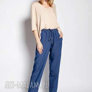 LANTI urban fashion. Luźne spodnie - SD122 jeans