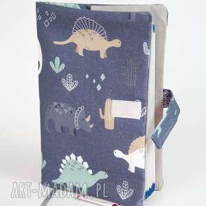 okładka na książeczkę zdrowia - dinozaury, okładka, etui, książeczkę, zdrowia