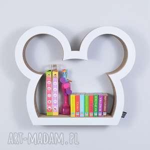 handmade pokoik dziecka półka na książki zabawki myszka ecoono |