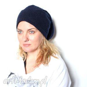 czapka damska łajdak skubaniec nie wraca przez kaca t1, moher, włos, wełna