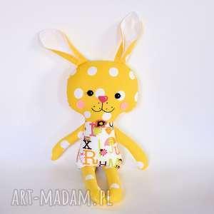 Królik Tuptuś - Basia, królik, zając, maskotka, dziewczynka, wielkanoc, roczek