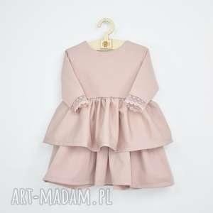 sukienka z falbanami, w falbanki, dla dziewczynki