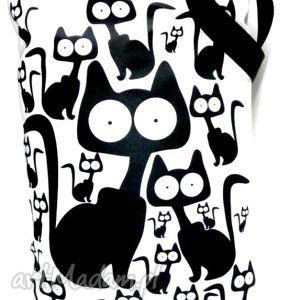 Torba na napę z kotami ramię gaul designs torba, pakowna