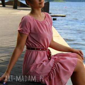 sukienki sukienka marita vichy, w kratkę, wakacyjna sukienka