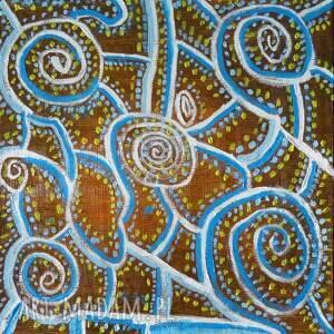 kafelek maroko, obraz olejny, wzorzysty, abstrakcja, kwadrat, fantazyjny