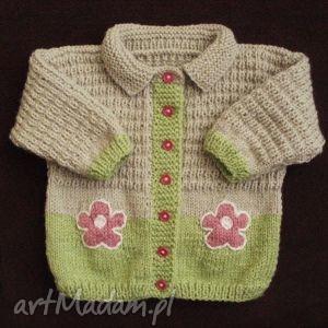 sweterek różowe kwiatki, sweterek, cieplutki, mięciutki