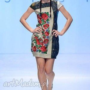 sukienka melanż folk design aneta larysa knap góralska