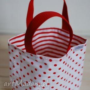 lunchbag by wkml marina czerwono biała, czerwony, biały, kanapki, lunch, torba