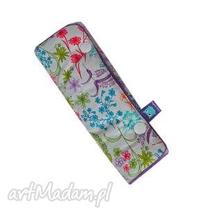 ochraniacz na pas, wzór rajski ogrÓd - ochraniacz, ogród, pas, minky, kwiaty