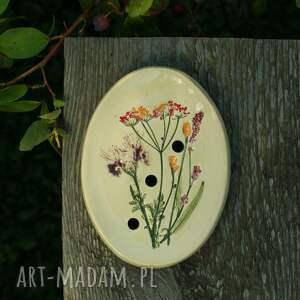 święta, mydelniczka łąka, mydelniczka, mydło, podstawek na mydło ceramika