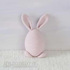 ręcznie robione pomysł na prezent świąteczny króliczek wielkanocny