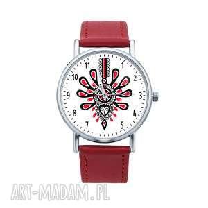 zegarki zegarek z grafiką parzenica góralska, zakopane, góral, góralka, folk