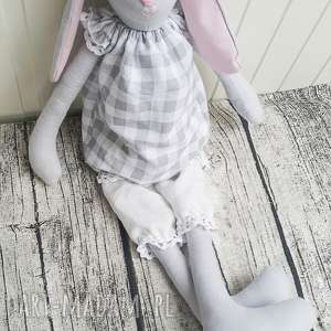 Królik tilda Elisia , tilda, maskotka, królik, dziewczynka