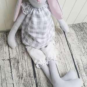 hand-made maskotki królik tilda elisia