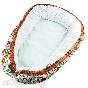 gniazdko niemowlęce indian style - kokon, niemowlęcy, gniazdko, niemowlęce