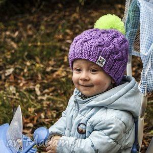 czapunia brum, czapka, czapeczka, kolorowa, uszy, polar, ciepła ubranka