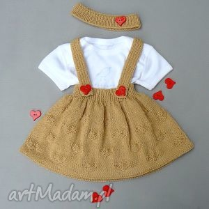 komplet agatka - spódnica, opaska, komplet, dziewczynka, prezent, niemowlę