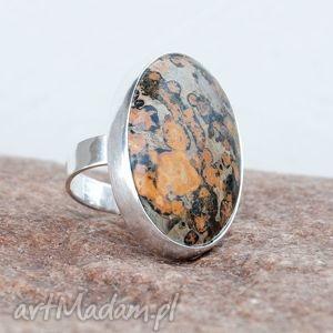 A279 Mozaa -pierścionek srebrny, pierscioenk, oryginalny, srebrny