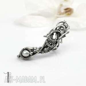 sorbus iii - srebrna nausznica z perłą - perła naturalna