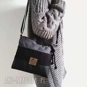 na ramię torebka black magic, torebka, zamsz, nubuk, ekoskóra, nowość, washpapa