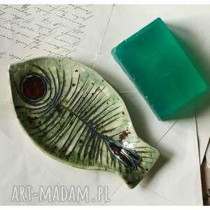 ceramika mydelniczka ryba, ceramika, mydelniczka, mydło, łazienka, święta