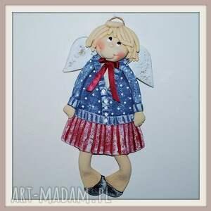 klara woli plastykę - aniołek - anioł, dekoracja, dziewczynka, masa, solna