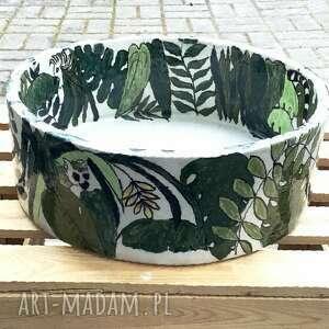 ceramika umywalka ceramiczna dżungla, użytkowa