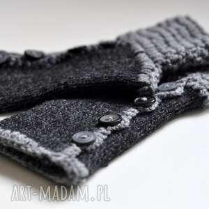 Tękawiczki mitenki rękawiczki the wool art rękawiczki, mitenki