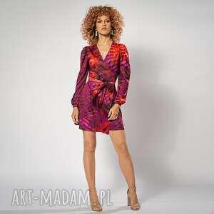 sukienki lily mini - hot tropical sukienka, oryginalna, mini, efektowna
