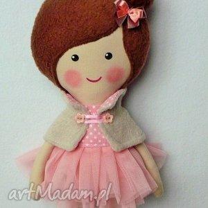 BALETNICA W PUDROWYCH ODCIENIACH, lalka, zabawka, przytulanka, prezent, niespodzianka