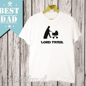 Prezent Koszulka z nadrukiem dla taty, tata, super najlepszy tatuś, ojciec, mąż